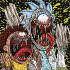 Monster Mouth Rick and Morty by Rob IsraeI LE BLOTTER ART acid free lsd paper