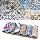 Self Adhesive Roll Tile Art Wall Decal Vinyl Sticker DIY Kit