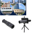 18X Telescope Zoom Optical Camera HD Lens + Clips + Tripod For Mobile Cell Phone