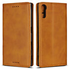For Sony Xperia XZ / XZs Luxury Magnetic Leather Wallet Flip Case Cover