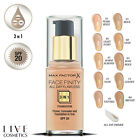 Max Factor Face Finity 3in1 All Day Flawless Primer Foundation *NUDE & NATURAL*