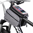 Wheelup Bicycle Bike Front Top Frame Dual Bag Pouch+Phone Case For Mobile New