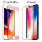 For iPhone X 6 7 8 Plus 3D Curved Full Coverage Tempered Glass Screen Protector günstig