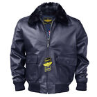 WWII Navy G-1 Flight Bomber Genuine Leather jacket With Warm Quilted Lining. <br/> 100% Genuine Premium Quality Leather. Same day Shipping