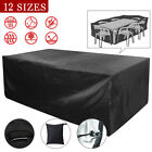 Garden Patio Furniture Cover Waterproof Rectangle Outdoor Table Cover