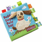 Baby Toy Book Soft Cloth Book Baby Toy Early Learning Education Animals Book-UK
