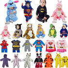 Baby Girls Boys Cartoon Animal Romper Costume Playsuit Outfits Set Sleepwear