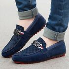Hot Mens Suede Leather Loafer Casual Driving Minimalism Moccasins Slip on Shoes