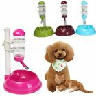 Safety Automatic Pet Water Bottle Feeder Dispenser Food Stand For Cat Dog Drink