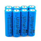 Lot Ultrafire 18650 Battery 3000mAh Li-ion 3.7V Rechargeable Batteries for Torch