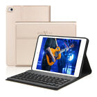 Boriyuan Removable Bluetooth Keyboard Case Leather Kick Stand For iPad Mini 4 3