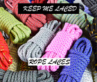 tone wolfe - ROPE Two Tone Multicolor 3M Reflective SHOELACES Laces 350 BUY 2 GET 1 FREE SHIP