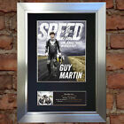 GUY MARTIN No2 SPEED Signed Autograph Mounted Photo Repro A4 Print 725