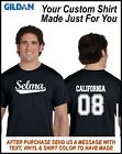 Personalized T Shirt Sport Team Uniform Jersey Name Number B