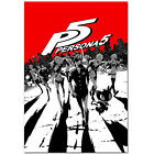 Persona 5 Poster Steel Box Art - High Quality Prints PS4 Exclusive