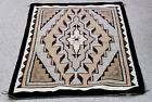 """Mint condition Navajo Two Grey Hills Rug by Verma Tyler 51"""" x 35"""" c.1970 Fine"""