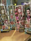 Monster High Lof Of 4 New Dolls, Frankie Stain, 2 Draculaura And 1 Lagoona Blue.