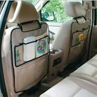 Car Baby Anti-kick Storage Mat Car Mat Auto Seat Back Protector  Mat Storage Bag