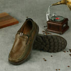 Mens Slip On Designer Loafers PU Leather Shoes Casual Moccasin Fashion Size