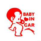 Cartoon Pee Baby In Car Letter Decal Reflective Vehicle Truck Sticker Wide