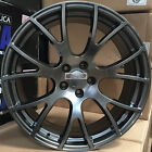 22x9 Hellcat Rims Gunmetal Rims Wheels Tires Fit Dodge Challanger Charger 300C