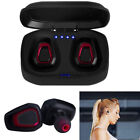 Mini True Wireless Sport Earbuds Headset Bluetooth HIFI In Ear Stereo Headphones