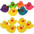 Mini Bathtime Rubber Duck Ducks Bath Toy Squeaky Water Play Kids Toddlers Yellow