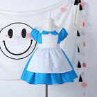 Alice in Wonderland Costume Toddler Baby Girl's Dress Fairytale Storybook Outfit