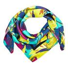 NEW VILEBREQUIN WOMENS SILK SCARF BIRDS OF PARADISE, STYLE: CARRE9 - VERONESE...