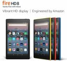 "Amazon Fire 8 Tablet with Alexa, 8"" HD, 16GB or 32GB, 2018 - 4 COLORS- BRAND NEW"