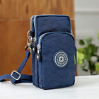 44Size Cross-body Mobile Phone Shoulder Bag Pouch Case Belt Handbag Purse Wallet