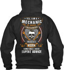 Awesome Mechanic - Yes, I Am A Of Course Talk To Myself Standard College Hoodie