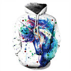 Men Women's Hoodie 3D Print Sweater Sweatshirt Jacket Coat Pullover Graphic Tops