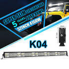 52 Inch CREE LED Work Light Bar 4160W Spot Flood Combo Offroad Driving SUV TRUCK