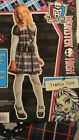 Girl's Monster High Frankie Stein 3 Pc Halloween Costume Outfit M(8-10), L(10-12