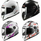 LS2 FF392 Junior Kids Youth Full Face Motorbike Motorcycle Scooter Crash Helmet