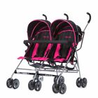 Dream On Me Twin Stroller - Deep Pink