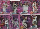 2018 TOPPS CHROME BASEBALL PINK PARALLEL (1-200) U-PICK COMPLETE YOUR SET
