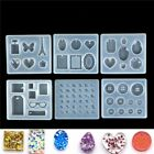 Necklace pendent Silicone Mould DIY Resin Decorative Craft Jewelry Making Mold ^