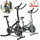 Pro Fitness Stationary Exercise Bike Cardio Indoor Cycling Bicycle Home & Gym US image