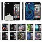 "For Apple iPhone 7 Plus (5.5"") Hard Fitted 2 Piece Snap On Case"
