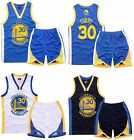 STEPHEN CURRY 30 - KIDS BOY YOUTH BASKETBALL JERSEY W/ SHORT