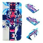 """iPhone 6/6s 4.7"""" Tiger Premium PU Leather Wallet case US Seller"""