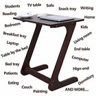 Stylish Modern Sofa Snack TV Tray Table for Watching TV and Snacking, Eating, Do
