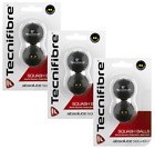 Tecnifibre - Double Yellow Dot Squash Ball - 2 Ball Box - Approved by the WSF