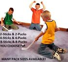 Внешний вид - MULTI-PACK FUN SLIDES MINI KNEE HOCKEY STICKS WITH PADDED CARPET PUCKS INDOOR EZ