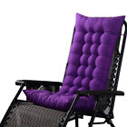Lounge Chair Cushion Tufted Deck Chaise Padding Patio Pool Recliner Home Dekor