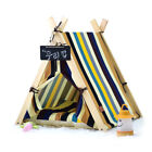 Portable Pet Dog House Indoor Cat Teepee Tent Kennel Puppy Cushion Easy Clean