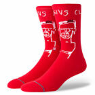 STANCE NEW Mens Basquiat Cassius Socks Red BNWT