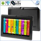 "Tablet PC Android 4.2 WiFi 7"" Display 512MB+4GB Quad Core Dual Camera TF Slot"